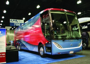 Uma S Motorcoach Expo In Los Angeles National Bus Trader